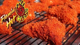 How To Make Flamin' Hot Cheetos Chicken Wings