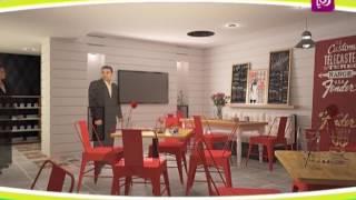 م. محمود عبيدات - تصميم مطاعم الوجبات السريعة
