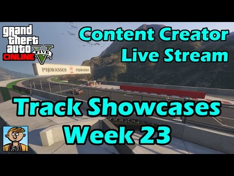 GTA Race Track Showcases (Week 23) [PS4] - GTA Content Creator Live Stream
