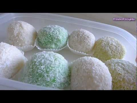 Snowball cake - Bánh bao chỉ