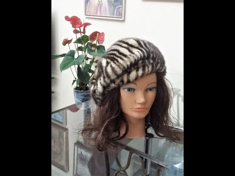 Самые модные меховые шапки . С какой шапкой носить шубу . ч.2