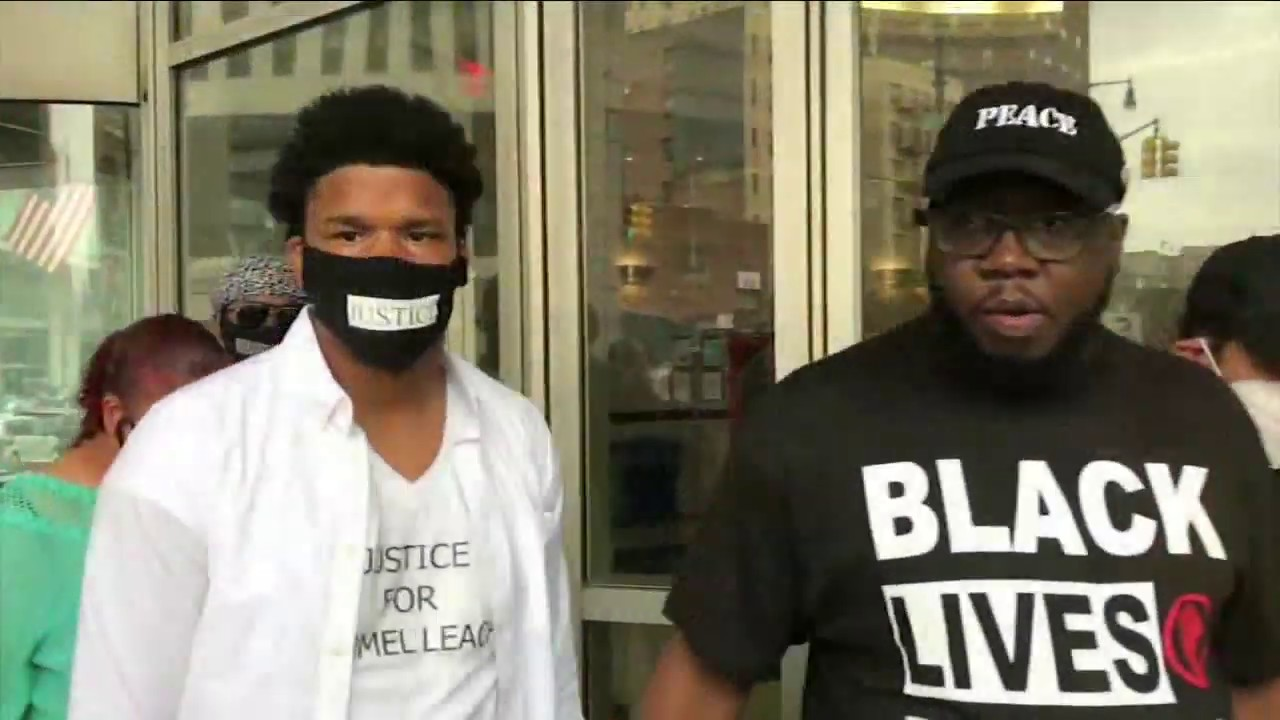 16-year-old boy tased by NYPD during protest, family says