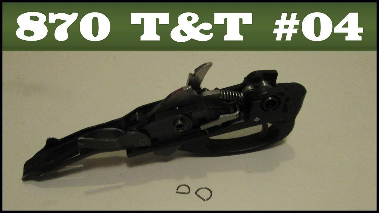 Trigger Pin Detent Springs Remington 870 Tips Tricks 4 Youtube Shotgunworldcom O Wingmaster Help Please