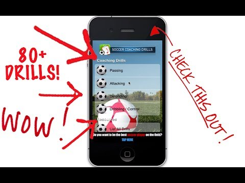 Soccer Coaching App For IPhone IPad IPod FREE | Football Coaching App