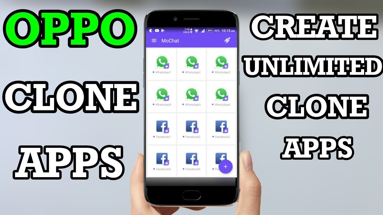 Oppo Clone Apps - Create Unlimited Clone Apps