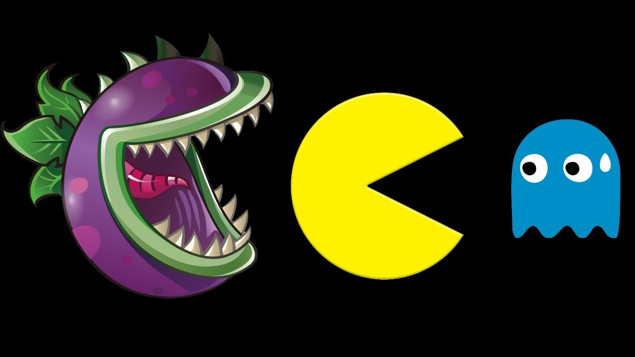 Plants vs zombies vs pac man youtube voltagebd Image collections