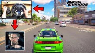 Forza Horizon 3 Brian Driving Like A BOSS (Steering Wheel + Shifter) RWD Mitsubishi Build Gameplay