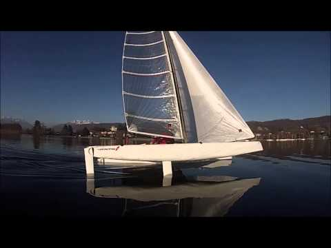 The fastest Sailing Yacht on Earth in 1...