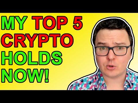 My Top 5 Crypto Portfolio Holdings & Bitcoin Strategies