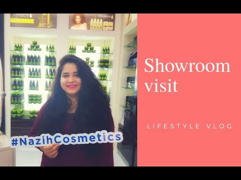The day I Visited Nazih Showroom in Dubai