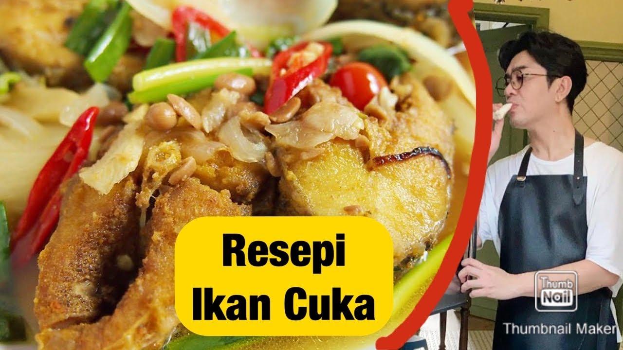 Dato Rizalman Masak Resepi Ikan Jenahak Masak Cuka Yang Sedap Mudah Untuk Berbuka Puasa Dan Bersahur Youtube