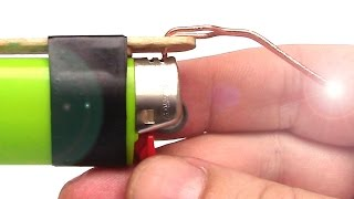 How to Make a Soldering Iron out of a Lighter