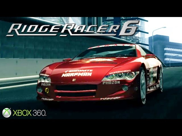 Ridge Racer 6 - Gameplay Xbox 360 (Release Date 2005)