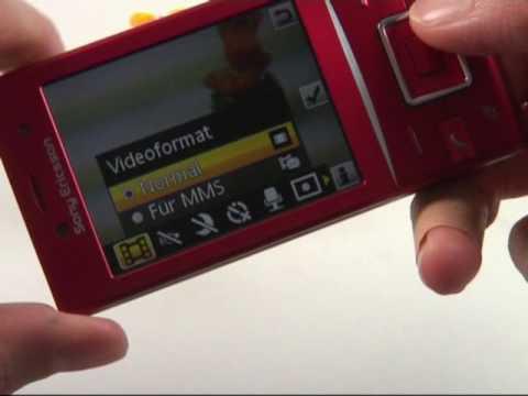 Sony Ericsson Hazel GreenHeart Test Kamera