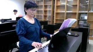 奔放的旋律 第六感生死戀電影主題曲 Unchained Melody 社教館現代流行爵士鋼琴班3204-張同學