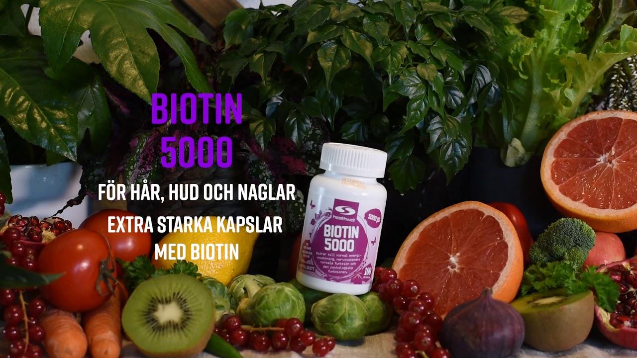 biotin tabletter biverkningar