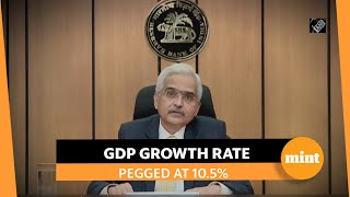 RBI retains GDP growth projection at 10.5% for FY 2021-22