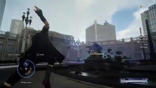 Final Fantasy XV - Platinum Demo - Iron Giant defeated (w/ suriken)