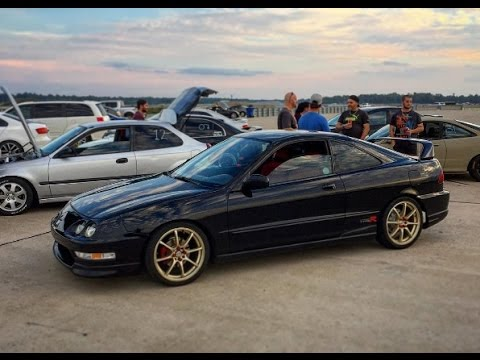Acura Integra Type R Spec 2000 Racing at Icar For Some Time ...