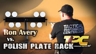 Ron Avery from TPC shooting a Polish Plate Rack