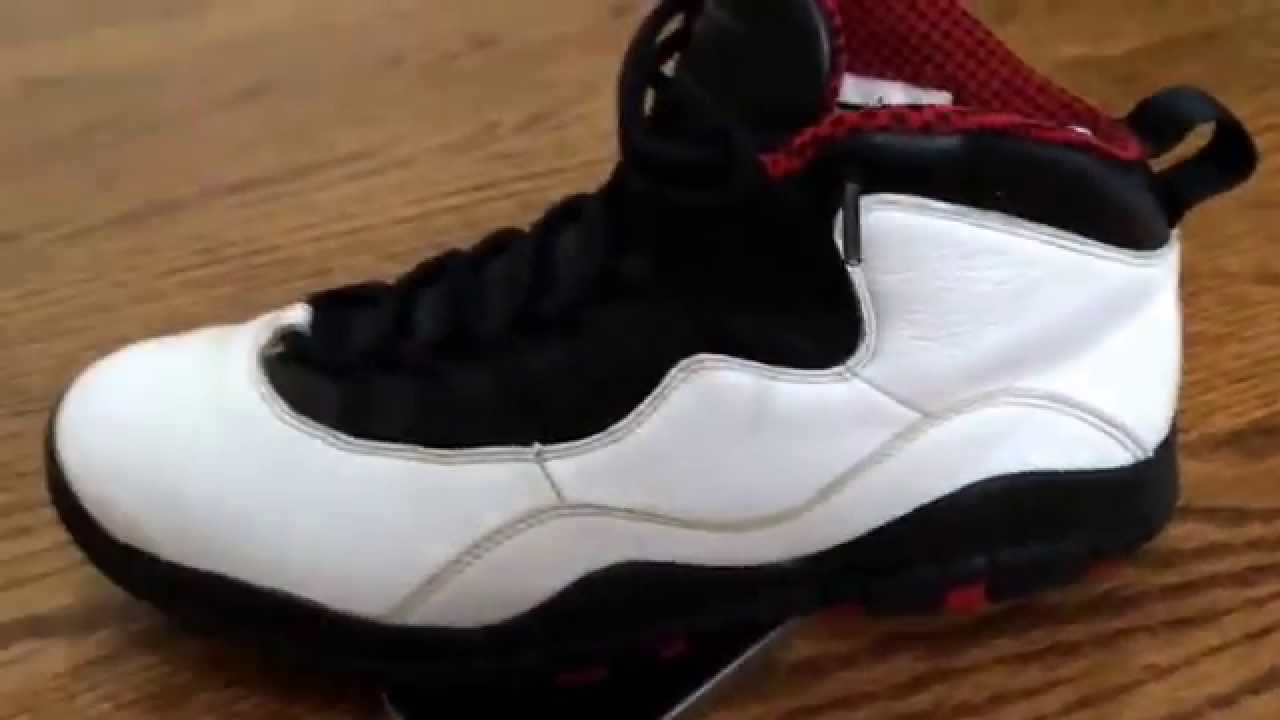 How to take creases out of your Jordan 10's