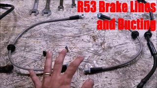 homepage tile video photo for R53 Mini Cooper S Brake Upgrades: Lines and Ducts (Part 3 of 3)