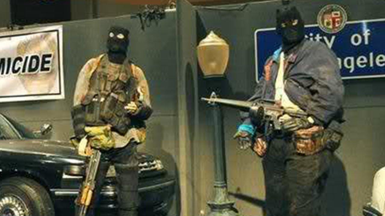 La Bank Robbery Shooting