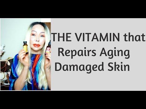 This Anti-Aging Vitamin Repairs Aging-Damaged Skin-Stimulates Collagen & Repairs DNA and more