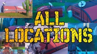 VISIT ALL EXPEDITION OUTPOSTS WEEK 7 CHALLENGE - Fortnite Season 7