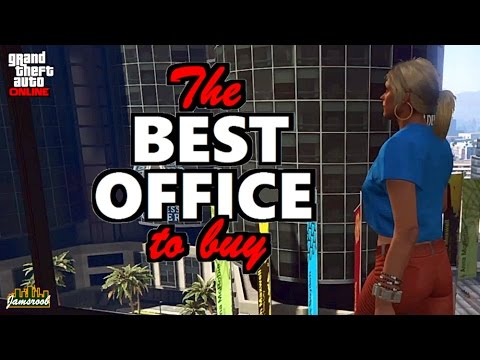 GTA 5 Online - CEO the best office to buy and save money - Arcadius - Import/Export - Finance&Felony