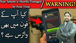 WARNING! Your System is Heavily Damaged by Four Virus | Virus Alert
