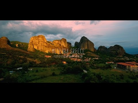Meteora Greece -  Rocks suspended in air DJI Phantom 4