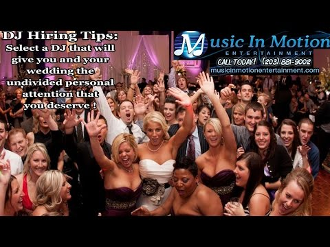 Wedding DJ New Haven CT - Music in Motion Entertainment - Get a Wedding DJ New Haven CT
