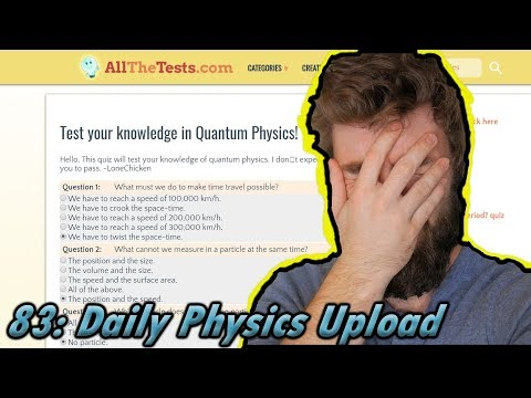 Test Your Knowledge In Quantum Mechanics Quiz (lol not really)