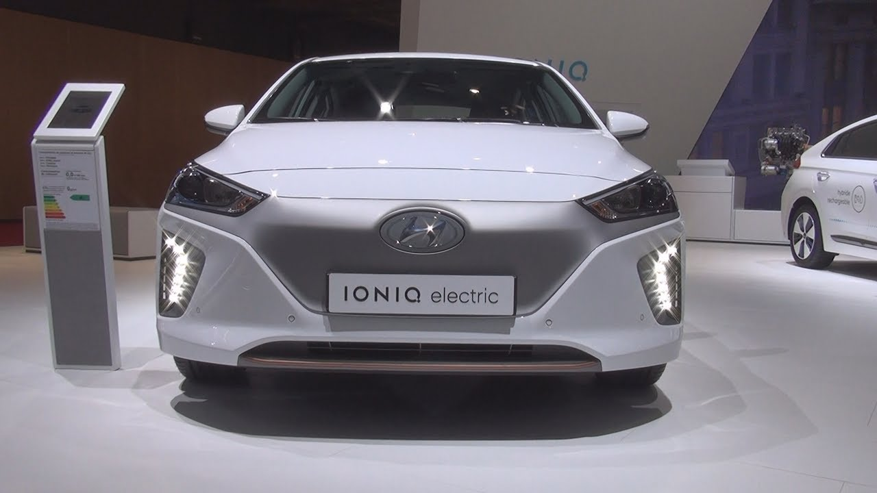 hyundai ioniq electric creative 2017 exterior and interior in 3d youtube. Black Bedroom Furniture Sets. Home Design Ideas