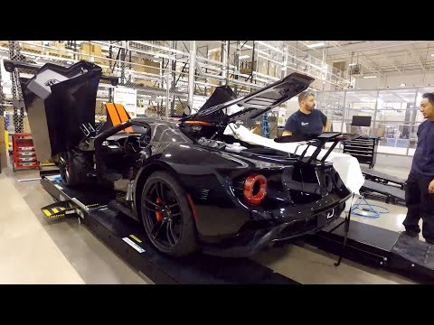 2017 Ford GT Production in Markham, Ontario, Canada