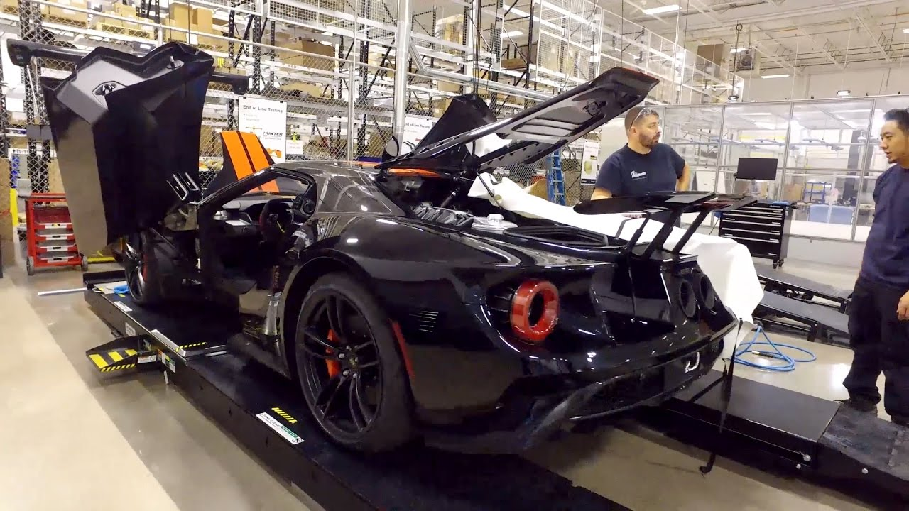 Ford Gt Production In Markham Ontario Canada
