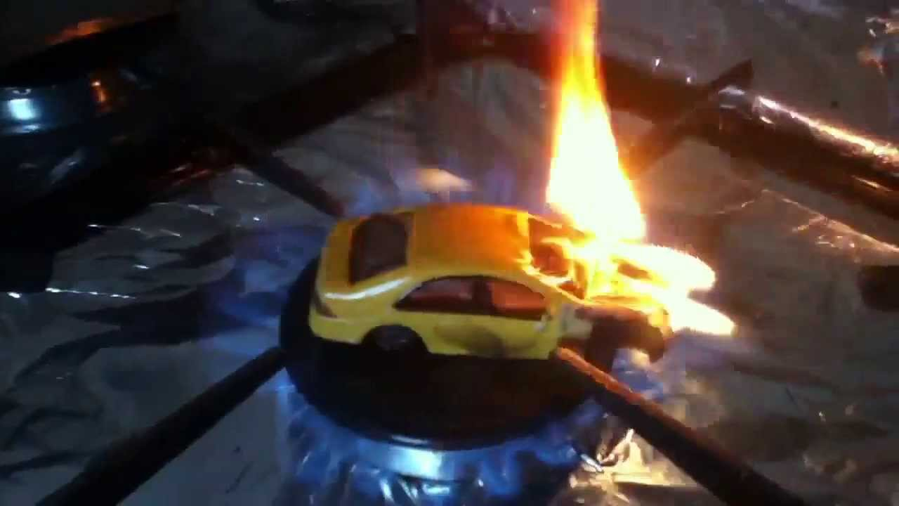 Toy Car On Fire Youtube
