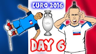 Russia vs Slovakia! France vs Albania! Romania vs Switzerland! (Day 6 Euro 16 highlights)(Payet goal! Griezmann goal! Stancu goal! Hamsik goal! Weiss goal! More highlights as well! ⚽️Subscribe to 442oons: http://bit.ly/442oonsSUB⚽   Euro2016 ..., 2016-06-16T22:18:57.000Z)