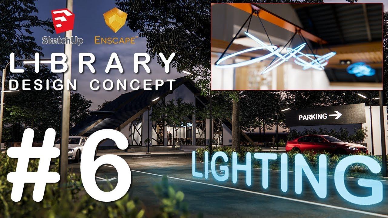 enscape for sketchup 6 8 enscape tutorial tips lighting editor