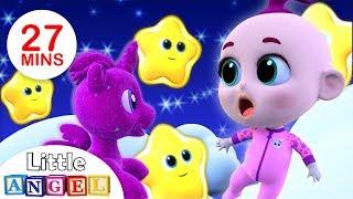 Twinkle Twinkle Little Star, Itsy Bitsy Spider, Finger Family Peekaboo | Kids Songs by Little Angel