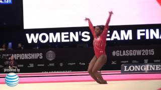 Simone Biles - Floor - 2015 World Championships - Team Finals