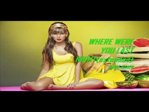 FLASHBACK 80's DISCO MUSIC - WHERE WERE YOU LAST NIGHT