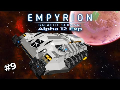 MY NEW CAPITAL SHIP! | Empyrion Galactic Survival | Alpha 12 Exp | #9