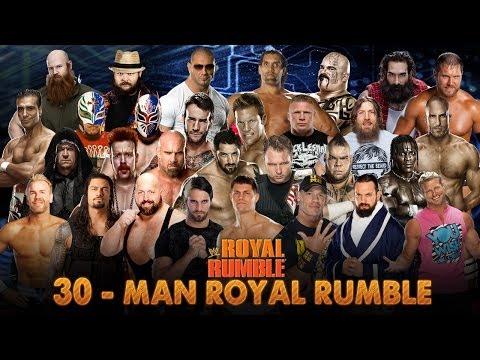 WWE Royal Rumble 2014 Match HD
