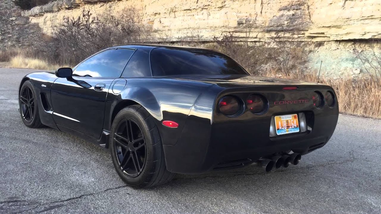 Z06 Corvette Cammed Widebody With Slp Loudmouths Youtube