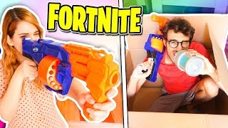 FORTNITE IN REAL LIFE - STEF VS PHERE