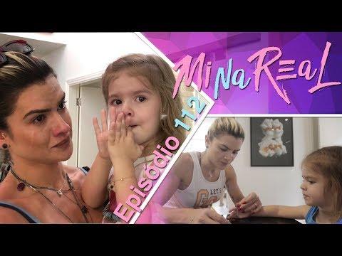 MiNa Real | Volta para Sp e Valentina descobrindo sobre a morte do puppy - Episódio 112