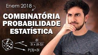 REVISÃO DE ANÁLISE COMBINATÓRIA E PROBABILIDADE PARA O ENEM 2018 | Exatas Exatas