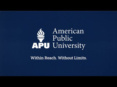 At American Public University, We Believe in Changing Lives